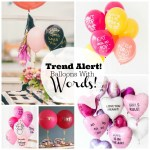 Trend Alert: Balloons With Words!