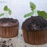 Seedling Earth Day Cupcakes-See More Earth Day Desserts Ideas At B. Lovely Events