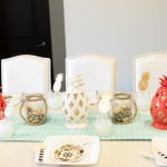 Father's Day Nautical Pineapple Tablescape (2)