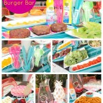 Summer Essentials Burger Bar- See Our Favorites On B. Lovely Events!