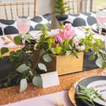 Gorgeous Floral Baby Shower Centerpiece