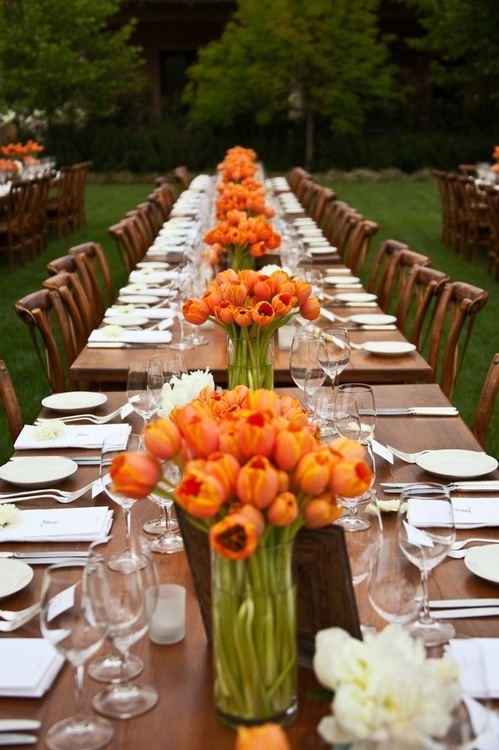orange and brown tablesetting-blovelyevents.com