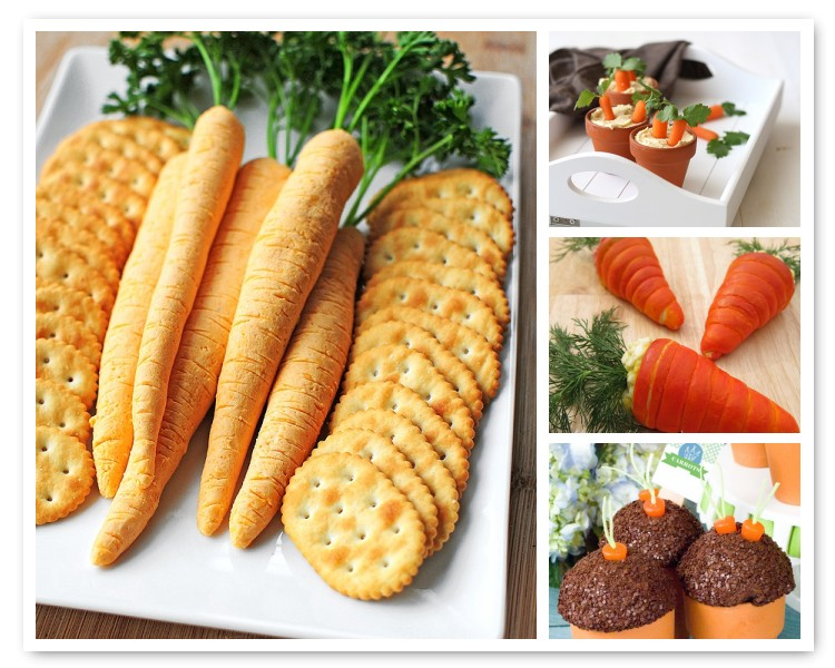 Easter Bunny Carrot ideas