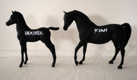 Kentuck Derby Party place card horse