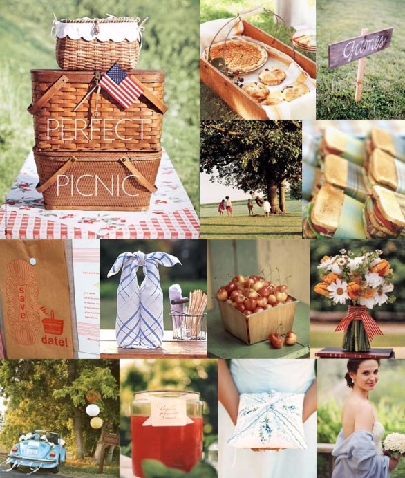 picnic wedding ideas inspiration board