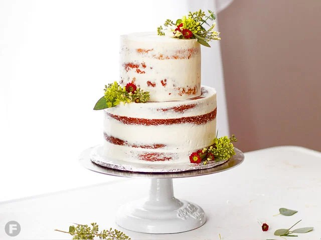 Master Cake Decorating with These 5 Tricks   Sweets   Feast Magazine Semi Naked Cake