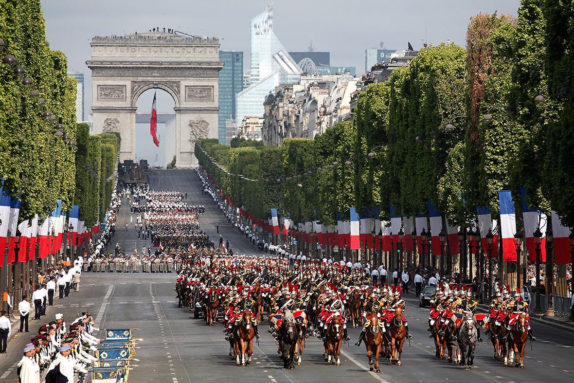 Bastille Day celebrations around the world   Travel   nrtoday com Bastille Day celebration at Arc De Triomphe in Paris
