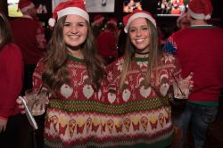 Fetching Largest Ugly Sweater Party At Ballpark Village Largest Ugly Sweater Party Music Lysweaterparty Ugly Sweater Party Decorations