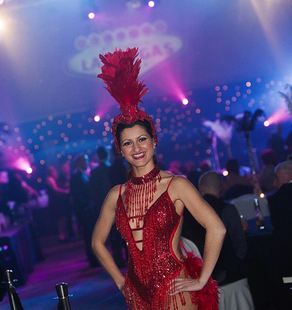 Showgirls show apparel