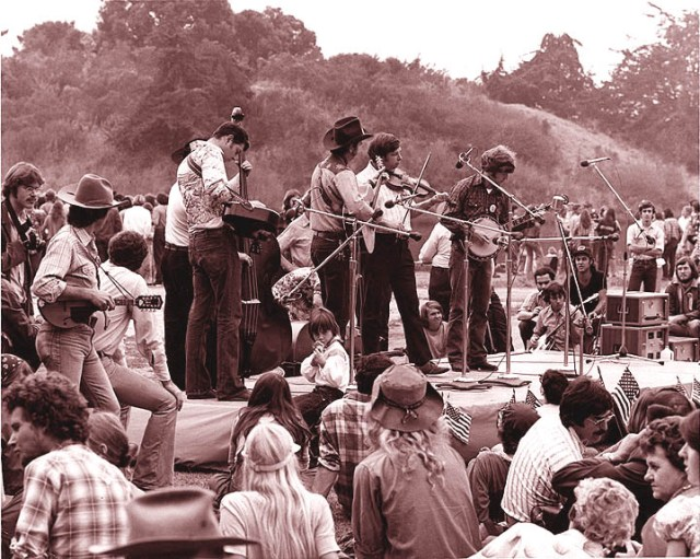 Performance at the SB Fiddlers' Convention, ca. 1974