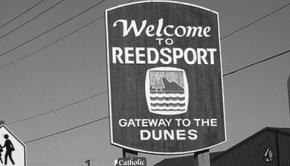 Reedsport, Oregon, future home of 10 buoy pilot wave power station