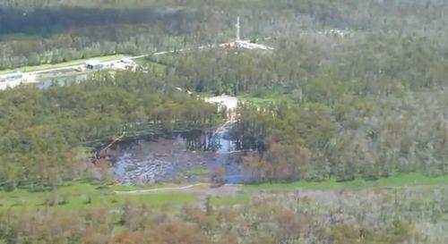 Louisiana Sinkhole 13 Sep 2012