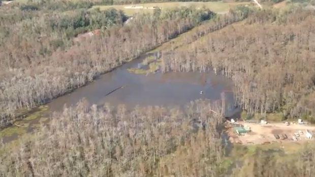 Louisiana Sinkhole 14 Nov 2012