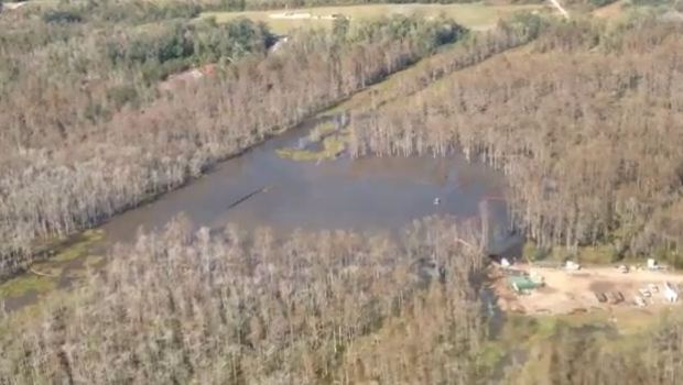 Louisiana Sinkhole 14 Nov 2012