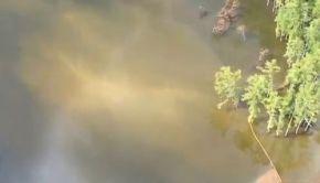 Louisiana Sinkhole 02 Jul 2013