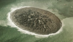 New island forms off the coast of Pakistan