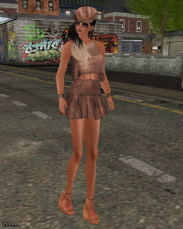 GizzA - Rebel Outfit Terracotta