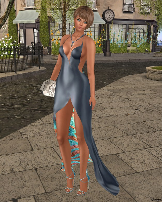 Baiastice - Mirna Dress-Glaucous