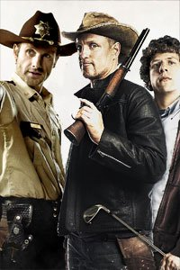 Leading men from The Walking Dead and Zombieland.