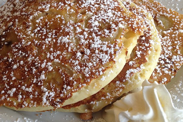 Pineapple Bliss Pancakes | Blue Moon Grill Wakefield MA