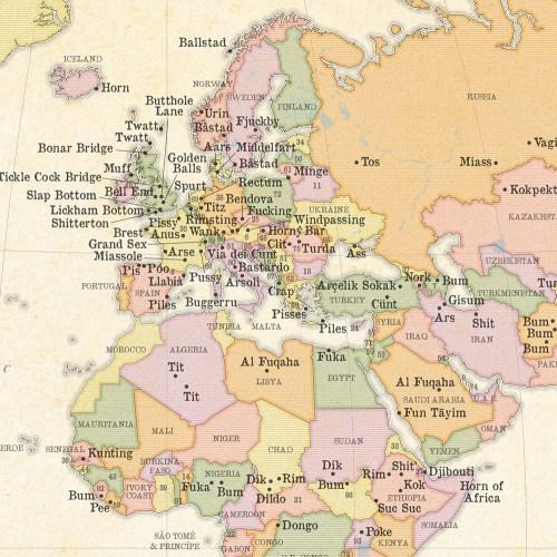 Medium Crop Of Tos World Map