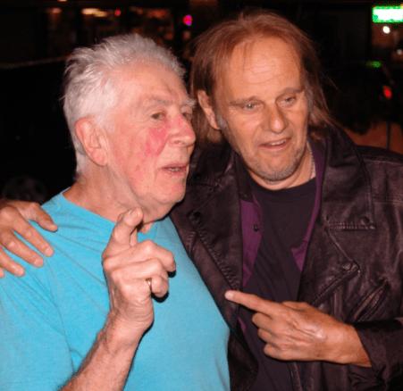 John Mayall with Walter Trout at the Maui Sugar Mill 7-1-15 By Casey Reagan