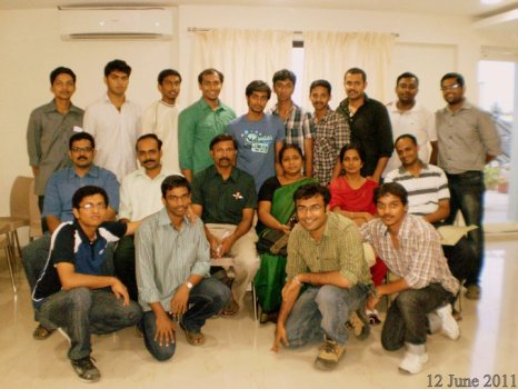 CEC Faculty and Alumni at Chennai
