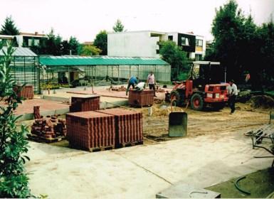 Pflasterarbeiten 1993