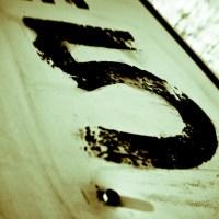 Distressed 5 - road sign | Blurbomat.com