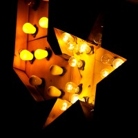Light Star - Lighted Sign, Austin, Texas | Blurbomat.com