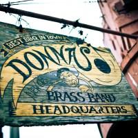 Donna's - sign - New Orleans | Blurbomat.com