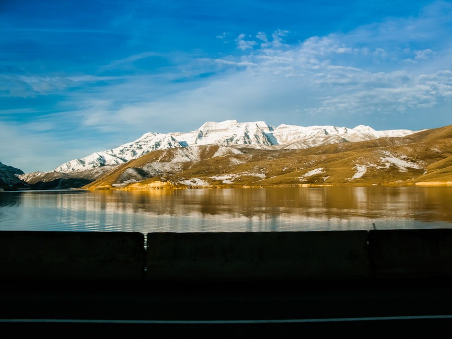 Reflected Mount Timpanogos