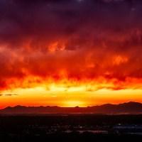 Blazing Sunset   Blurbomat.com