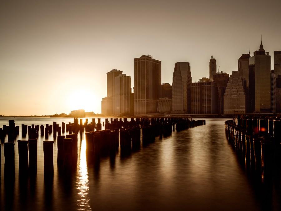 Sunset in Lowest Manhattan