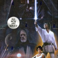 "Topps Gives Us ""Star Wars Illustrated: A New Hope"" Featuring Fantastic Original Art From Paul Shipper And 8 Other Artists"
