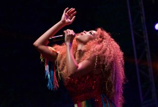 Lion Babe at L.A. PRIDE 6/11/16. Photo by Derrick K. Lee, Esq. (@Methodman13)