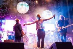 """Edward Sharpe and the Magnetic Zeros at KRCW/Annenberg's """"Sound In Focus"""" 7/9/16. Photo by Justin Dingwall (@justinslens)"""