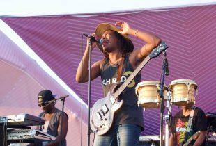 Raging Fyah at Santa Monica Pier's Twilight Concert 7/28/16. Photo by Derrick K. Lee, Esq. (@Methodman13) for www.BlurredCulture.com.