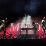 DJ Snake with Migos @ Coachella 4/15/17. Photo by Julian Bajsel. Courtesy of Coachella. Used with permission.
