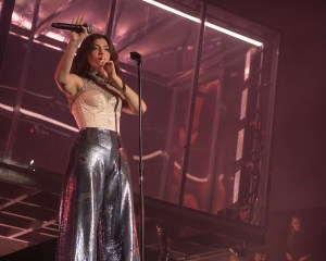 Lorde @ Coachella 4/16/17. Photo by Roger Ho. Courtesy of Coachella. Used with permission.