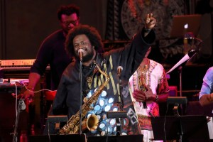 Kamasi Washington at The Hollywood Bowl 8/23/17. Photo by Craig T. Mathew/Mathew Imaging. Use with permission.