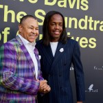 """Ralph Johnson & Verdine White (Earth, Wind & Fire) on the Red Carpet for """"Clive Davis: The Soundtrack Of Our Lives"""" @ Pacific Design Center 9/26/17. Photo by Derrick K. Lee, Esq. (@Methodman13) for www.BlurredCulture.com."""