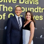 """Doug and Jessie Davis on the Red Carpet for """"Clive Davis: The Soundtrack Of Our Lives"""" @ Pacific Design Center 9/26/17. Photo by Derrick K. Lee, Esq. (@Methodman13) for www.BlurredCulture.com."""