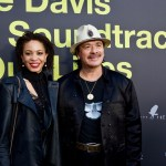 """Cindy Blackmon & Carlos Santana on the Red Carpet for """"Clive Davis: The Soundtrack Of Our Lives"""" @ Pacific Design Center 9/26/17. Photo by Derrick K. Lee, Esq. (@Methodman13) for www.BlurredCulture.com."""