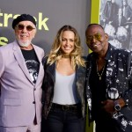 """Lou Adler, Tiffany Dunn & Randy Jackson on the Red Carpet for """"Clive Davis: The Soundtrack Of Our Lives"""" @ Pacific Design Center 9/26/17. Photo by Derrick K. Lee, Esq. (@Methodman13) for www.BlurredCulture.com."""