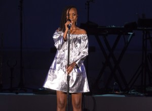 Kelela at The Hollywood Bowl 9/24/17. Photo by Greg Grudt/Mathew Imaging. Used with permission.