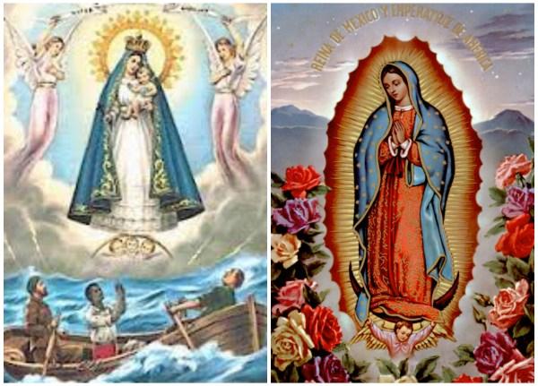 Virgen de Guadalupe, Caridad de Cobre