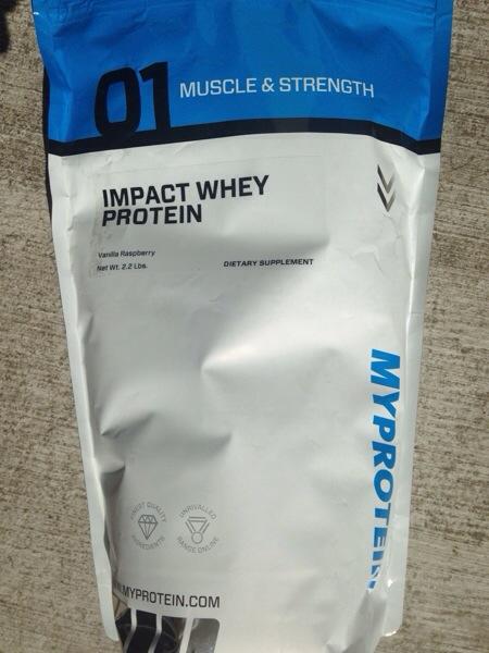 My Protein Impact Whey Protein Vanilla Raspberry