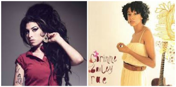 Amy Winehouse, Corinne Bailey Rae