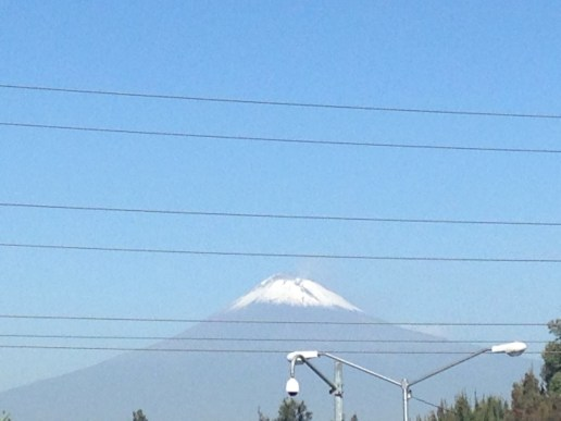 Volcán Popocatépetl, Puebla